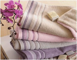 Types of women's towels