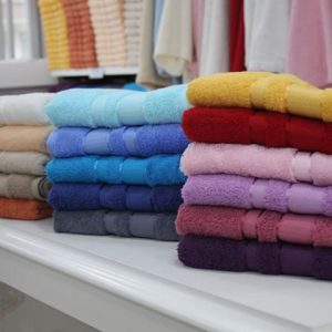 Types of hand-made towels